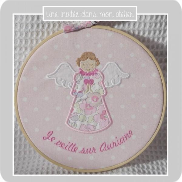 cadre-tambour-ange gardien-Liberty betsy dragée