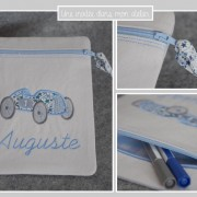 pochette zippette-personnalisé-Liberty-adelajda bleu