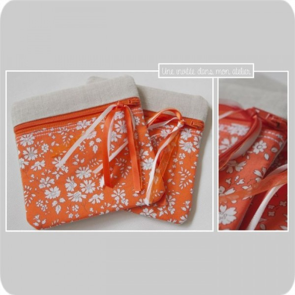 p'tite zip-Liberty-capel orange