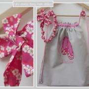 sac à dos-personnalisé-collier-liberty mitsi rose