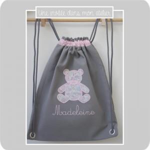sac à dos-petit format-Libverty betsy dragée
