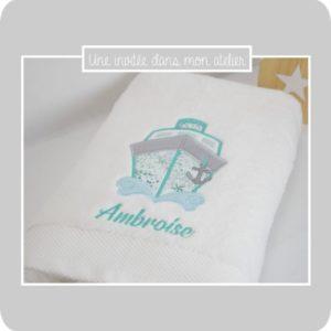 serviette de douche-Liberty exclusif-adelajda PABLO