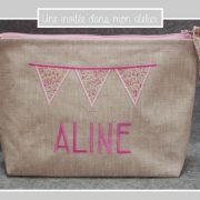 trousse de toilette-lin enduit-Liberty-katie and millie rose