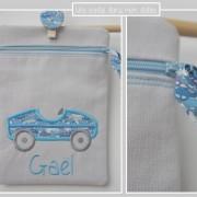 zip-trousse enfant-voiture-Liberty cars bleu