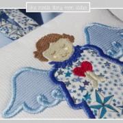 ange gardien à suspendre-Liberty adelajda bleu