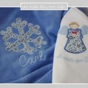cadeau de naissance-coffret personnalisé-Liberty-adelakda bleu