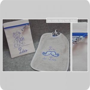 coffret cadeau de naissance-Liberty adelajda bleu