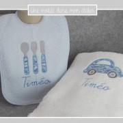 coffret-cadeau-naissance-Liberty cars bleu-une invitée dans mon atelier