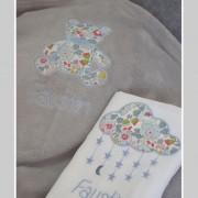 coffret naissance-cadeau personnalisé-Liberty-Betsy porcelaine