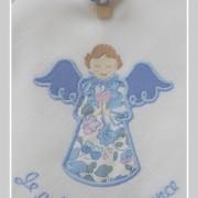 lange-ange gardien-Tante Menoue-Liberty betsy bleu