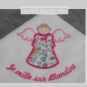 lange-ange gardien-personnalisé-Liberty-betsy porcelaine