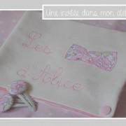 pochette à barrettes-Liberty betsy dragée