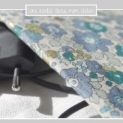 pochette chargeur- Liberty-from Japan