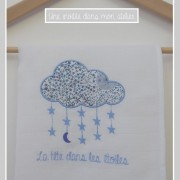 lange nuage-Liberty-adelajda bleu