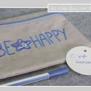 pochette-carrée-be happy-Liberty-betsy new bleu