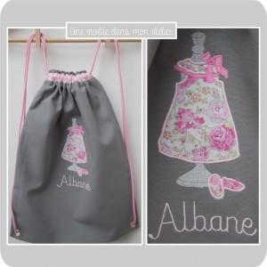 sac à dos enfant-personnalisé-Liberty Félicité rose