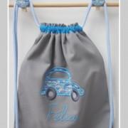 sac à dos- enfants-personnalisé-Liberty cars bleu