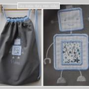 sac à dos pour enfant-cadeau de naissance-personnalisé-Liberty-adelajda bleu