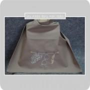 serviette de table-à pression-pour enfant-petit monsieur-Liberty-adelajda brun-uneinvitée dans mon atelier