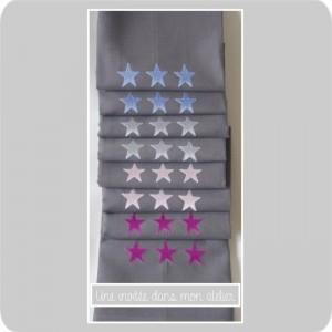 serviettes de table étoiles - Copie