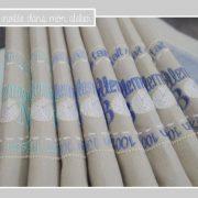 serviettes de table-100% fait maison-bleu