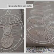 serviettes-de-table-personalisées-cerfs