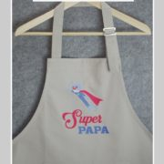 tablier-cuisine-super papa
