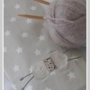 étui pour ranger les aiguilles à tricoter-Liberty fairford taupe