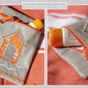 pochette-le petit bazar de la plage-Liberty Capel orange