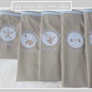 sacs de camps scout personnalisés- étoiles