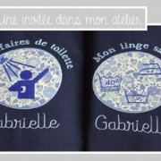 sacs de linge pour camps scout-Liberty danjo bleu