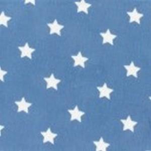 tissu à étoiles bleu