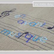 tote bag-lin-en avant la musique-bleu