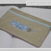 trousse-plate-lin enduit-Liberty-betsy-bleu ciel