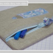 trousse-plate-lin enduit-Liberty-betsy bleu ciel
