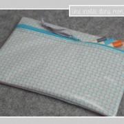trousse-tissu enduit-Petit Pan Bruyère gris
