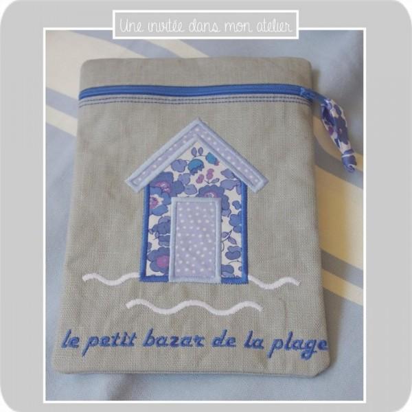 zippette-petit bazar de la page-Liberty betsy new bleu