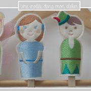 marionnettes à doigts-Peter Pan