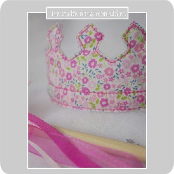 couronne-Liberty Fairford rose-déguisement petite fille