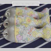 porte-clés-poisson-lin irisé-Liberty-betsy-soleil rose