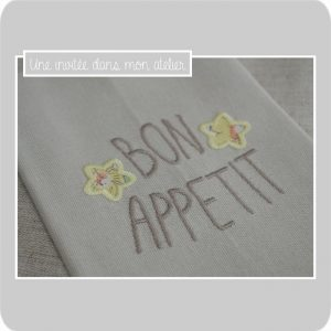 serviette de table-bon appétit-Liberty-betsy soleil