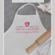 tablier de cuisine-pour enfant-cuisiner est un jeu d'enfants-Liberty mitsi rose-une invitée dans mon atelier