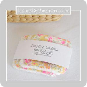 Lingettes-lavables-démaquillantes-Liberty-lemon curd