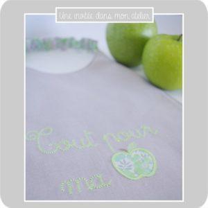 Bavoir élastique-Liberty-wiltshire pomme-Tout pour ma pomme